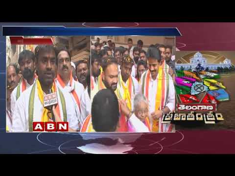 Jubilee hills MLA Candidate Vishnuvardhan Reddy face to face over Election campaign