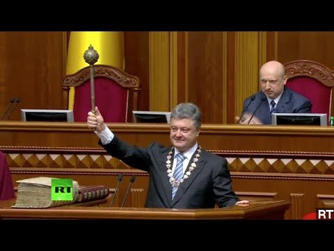 Poroshenko Sworn In As Ukraine's New President