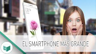 El SMARTPHONE más GRANDE - XIAOMI MI MAX Review en Español
