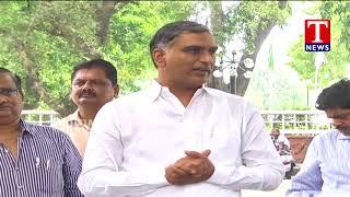 Minister Harish rao Speaks to Media after NWDA Meet | Delhi  Telugu