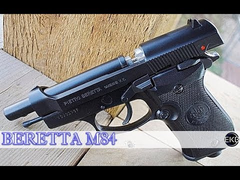 CO2 Blowback Beretta Model M84 Airgun .177 Full Review (Par