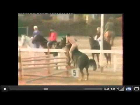 Jumping naked, in style - Truly Natural Horsemanship