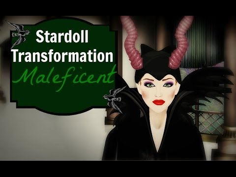 Stardoll Transformation: Maleficent