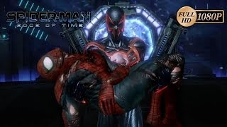 SpiderMan Edge of Time Spiderman vs Antivenom Gameplay Xbox360/PS3 Death of Peter Parker Sub Español