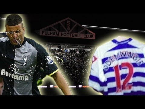 Funniest Tweets: Popov Spitting | Fulham blackout | Odemwingie's QPR Shirt