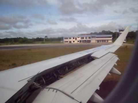 Puerto Inírida, Guainía aproximación final