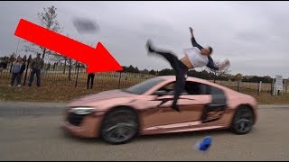 FLIPPING OVER SUPERCAR! *GONE VERY WRONG*