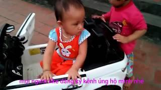Đồ chơi trẻ em 👉 bé chơi ôtô 🚗 ♥Yến Moon TV ♥