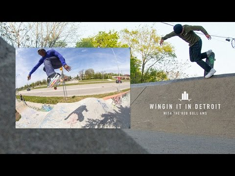 Red Bull AMs - Wingin' It In Detroit