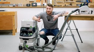 NEW Festool CTL CLEANTEC Extractor with Bluetooth - Product Overview