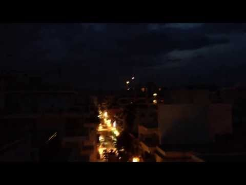UFODI News: UFO's Appear From Thin Air Feet From Rooftops - Volos - Greece 12/11/2013