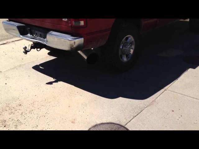 2006 Cummins with a 6 inch Bully Dog exhaust