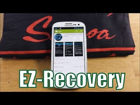 How to Update to the Latest Recovery- Verizon Galaxy S3 -  EZ-Recovery.. TOO EASY!