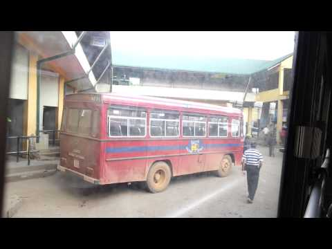 Inside The Bus In Sri Lanka video