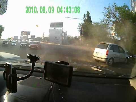 Авария в Краснодаре 01.05.2012 по вине пьяного водителя