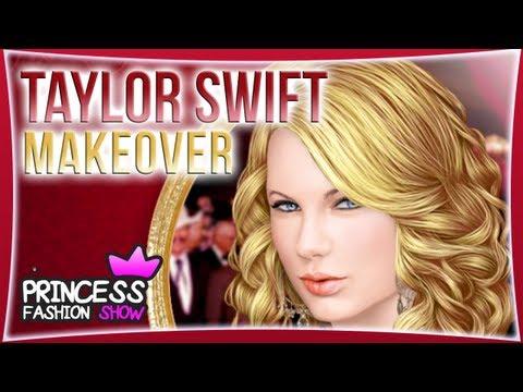 Taylor Swift Makeover - Make Up Game for Kids