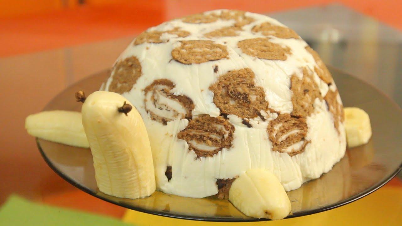 Рецепт приготовления праздничного торта