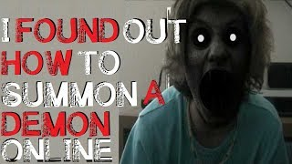 """""""I Found Out How to Summon a Demon Online"""" Original Horror Story"""