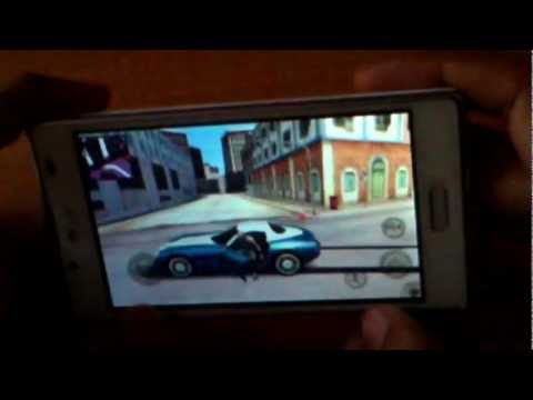 Lg optimus l7 running gangstar reo