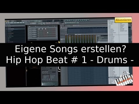 How To Wie - Musik   Einen Beat Selber Am Pc Machen (hip Hop Drums) Nr 1 [fl Studio Tutorial German] video