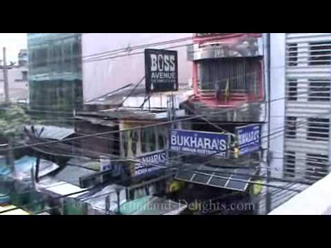 Sukhumvit Road, Nana Sky Train Station, Soi 7, Bangkok, Thailand.