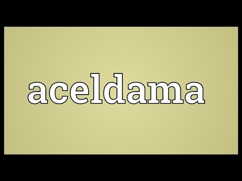 Header of Aceldama
