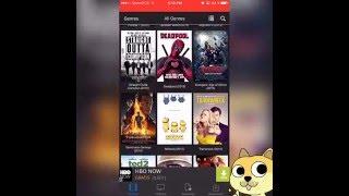 ve películas& tv series  gratis en tu iPhone gratis también puedes descargar las películas