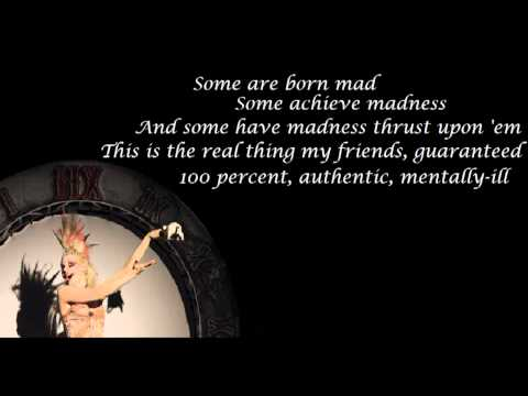 Girls! Girls! Girls! - Emilie Autumn (with lyrics)