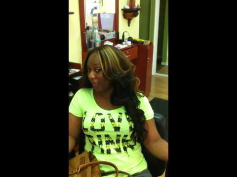 Peruvian hair body wavy Sew-in review (Stylist Marvin Hayes)