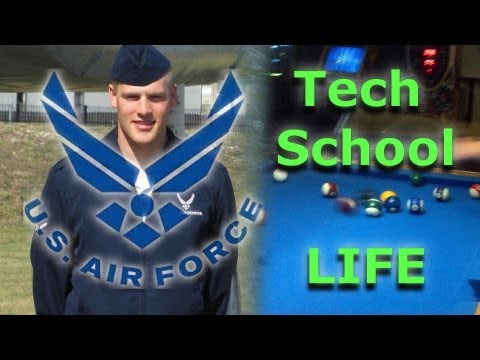 Air Force Tech School Life video
