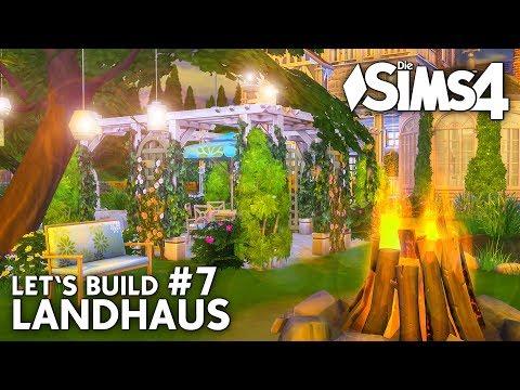 Die Sims 4 Haus bauen | Landhaus #7: Natur-Pool & Garten (deutsch)