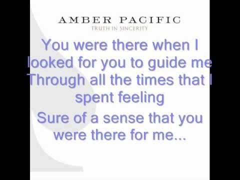 Amber Pacific - Watching Over Me