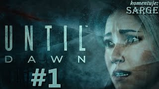 Zagrajmy w Until Dawn [PS4] odc. 1 - Horror w mroźnym Blackwood Pines