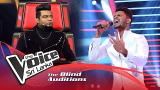Abhishek Ravichandran - Romanthika Operawa Blind Auditions |The Voice Sri Lanka
