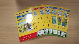 Phonics Activity Books 1-6