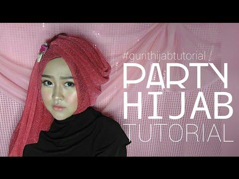 Party Hijab Tutorial #3 | Gurit Mustika Hijab style ini bisa kalian gunakan di acara pesta, bisa juga digunakan untuk acara perpisahan sekolah ataupun wisuda. Style ini...