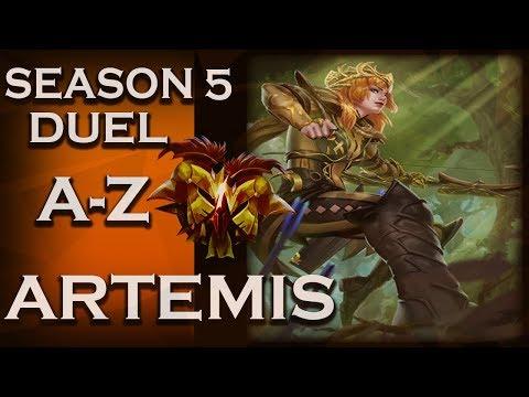 Smite: Season 5 Duel A-Z!   Artemis   Entrapped   #12
