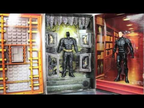 The Dark Knight Rises Movie Masters Bruce Wayne To Batman SDCC 2012 Exclusive Figure Review