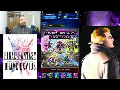 Final Fantasy Brave Exvius - Duke banner review - FFBE - GL