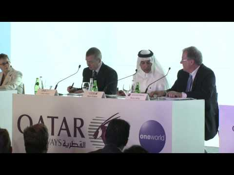 Qatar Airways inauguration into oneworld Alliance (Webcast replay - 29 October 2013)