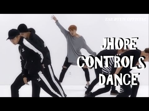 BTS WHEN JHOPE CONTROLS THE DANCE