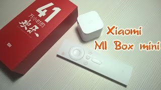 Xiaomi Mi Box mini, TV android [распаковка]