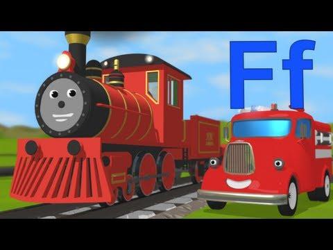 Limba engleza pentru copii - Sa invatam despre litera F