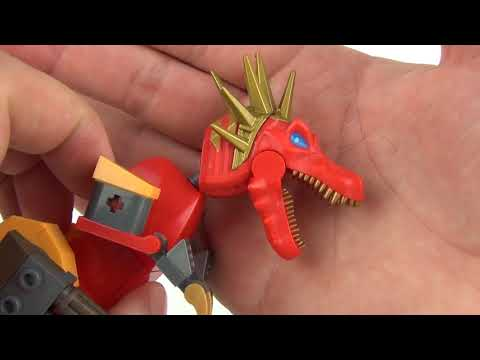 KRE-O Transformers 4 Age Of Extinction: Scorn Street Chase Kids Toy Review & Unboxing, Hasbro