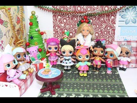 Куклы ЛОЛ сюрпризы мультик для девочек
