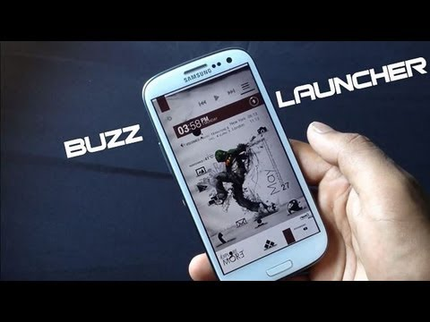 Best Android Launcher 2013: Buzz Launcher