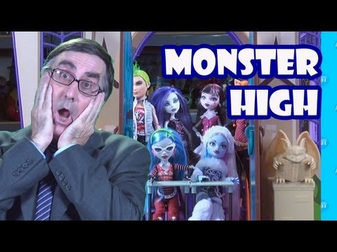 Monster High Doll School Playset Toy Review Unboxing