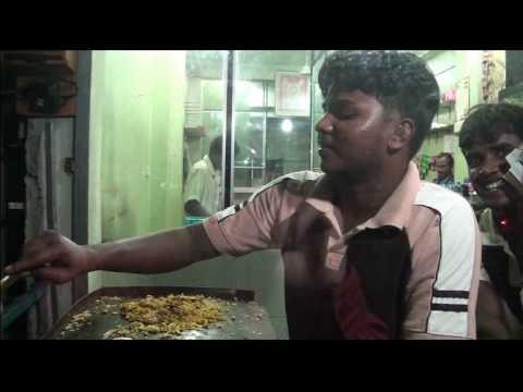 Koththu Roti or Kottu - Post office Road, Trincomalee - Sri Lanka