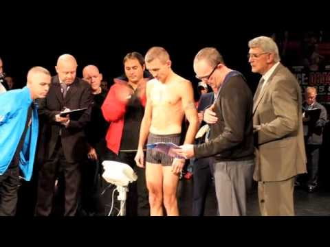 VALERY YANCHY v KEVIN SATCHELL WEIGH IN & HEAD TO HEAD FOOTAGE / MAGNIFICENT SEVEN