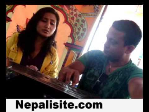 Anju Panta N Manoj Rajsinging video